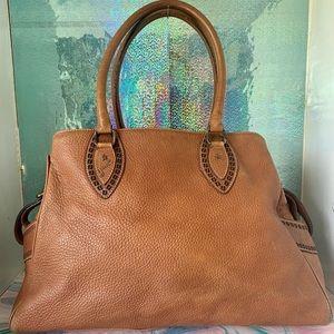 Fendi Large Leather Vintage Satchel